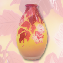ガレの花瓶