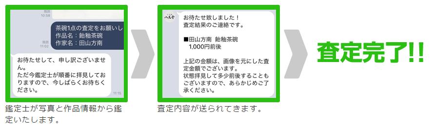 八光堂LINE査定_その3