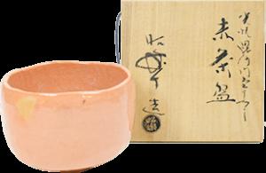佐々木昭楽 赤茶碗