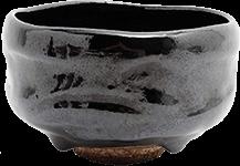 樂吉左衛門 黒楽茶碗