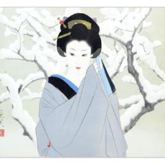 【銀座本店:絵画買取】志村立美 リトグラフ