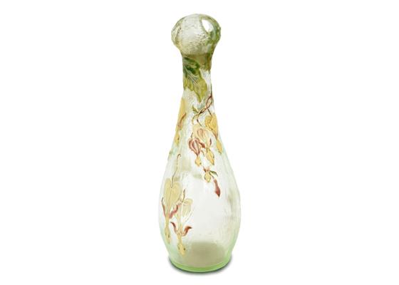 【京都店:美術品買取】ガレ ウランガラス花瓶