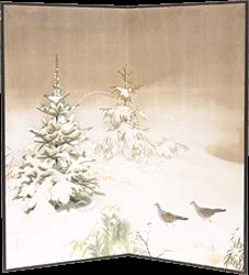 榊原紫峰 屏風