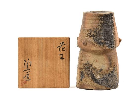 【博多店:陶器買取】森陶岳 花生