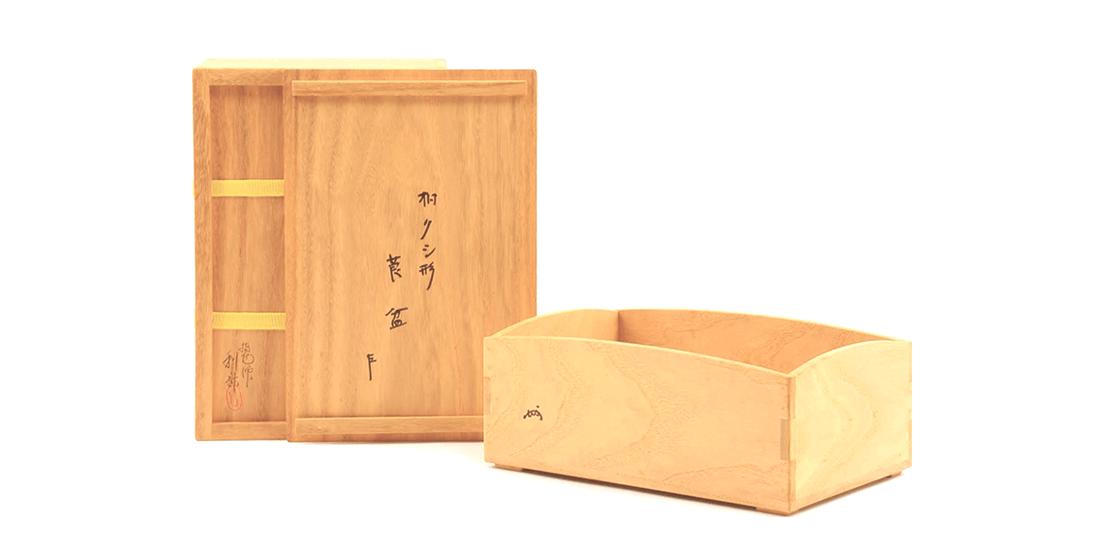 【出張買取:茶道具買取】駒沢利斎 莨盆