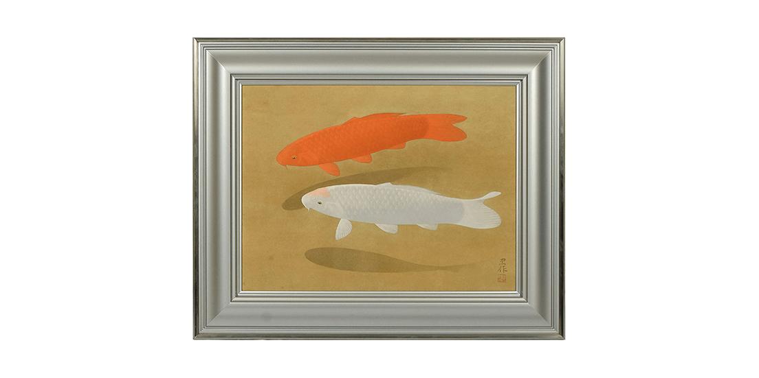 【大阪本店:絵画買取】大山忠作 彩色