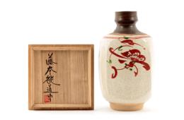 【広島店:陶器買取】藤本能道 花瓶