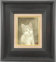 猫の画も人気の高い藤井勉