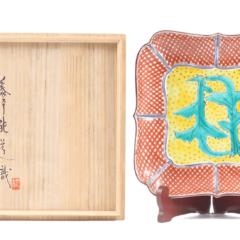 【大丸梅田店:陶器買取】富本憲吉 飾皿