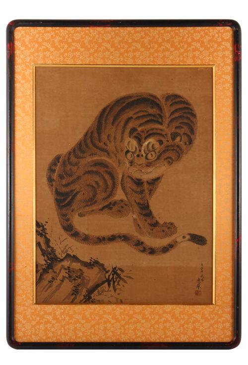 円山応挙の代表作「虎図」