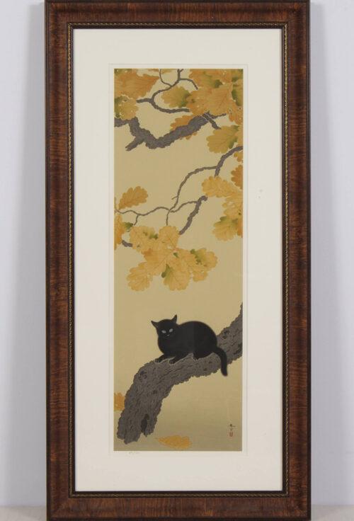 菱田春草の代表作「黒き猫」