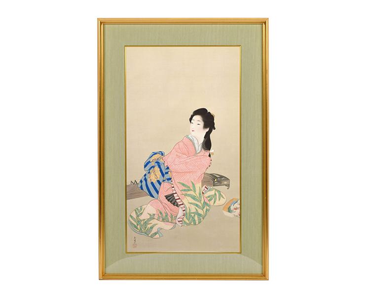 明治~昭和に活躍した上村松園。女性の美を表現し続けた女流画家 | 古 ...