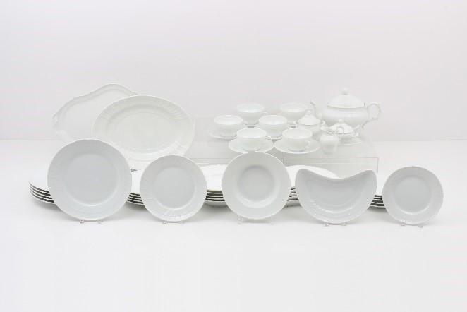 ベッキオホワイト ティーセット&テーブルウェアセット