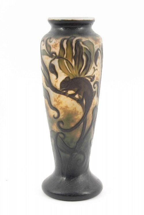 ミューラー カメレオン文花瓶