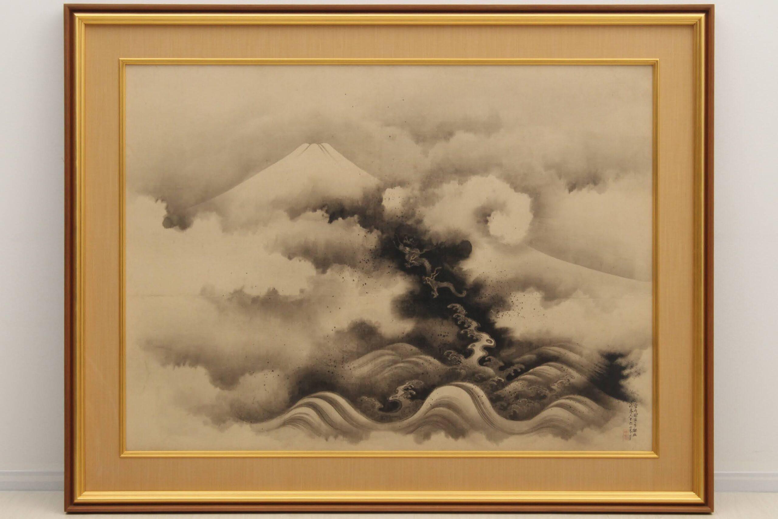 明治の日本画家・下村観山。西洋の色彩と日本画の伝統的技法を融合