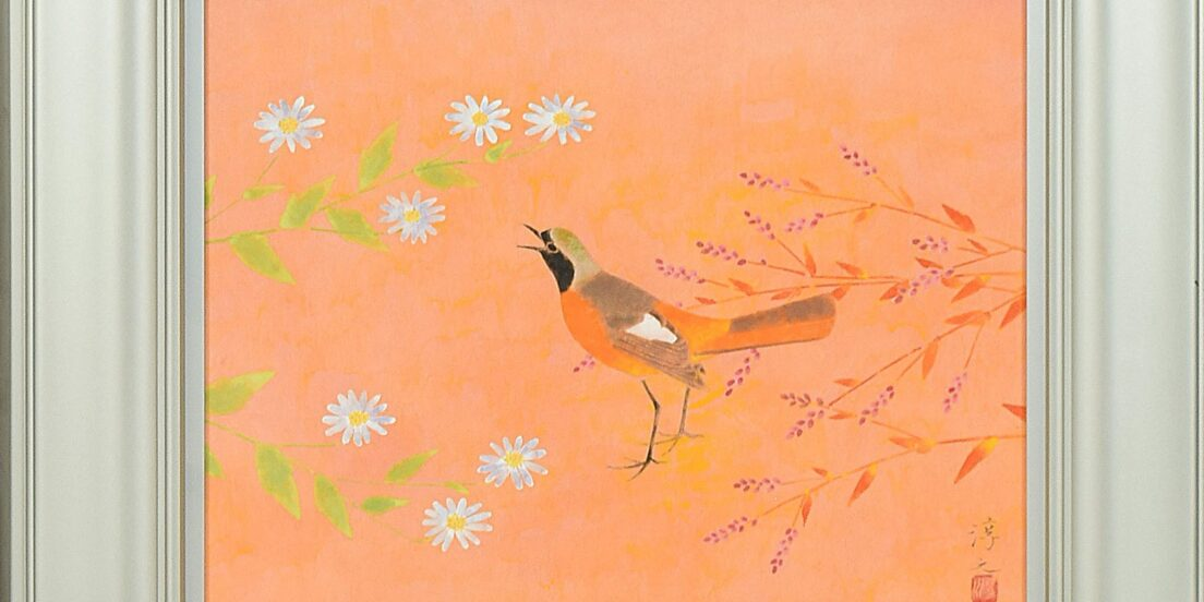 上村淳之とは?鳥を愛する日本画家。現代花鳥画の基礎を築く