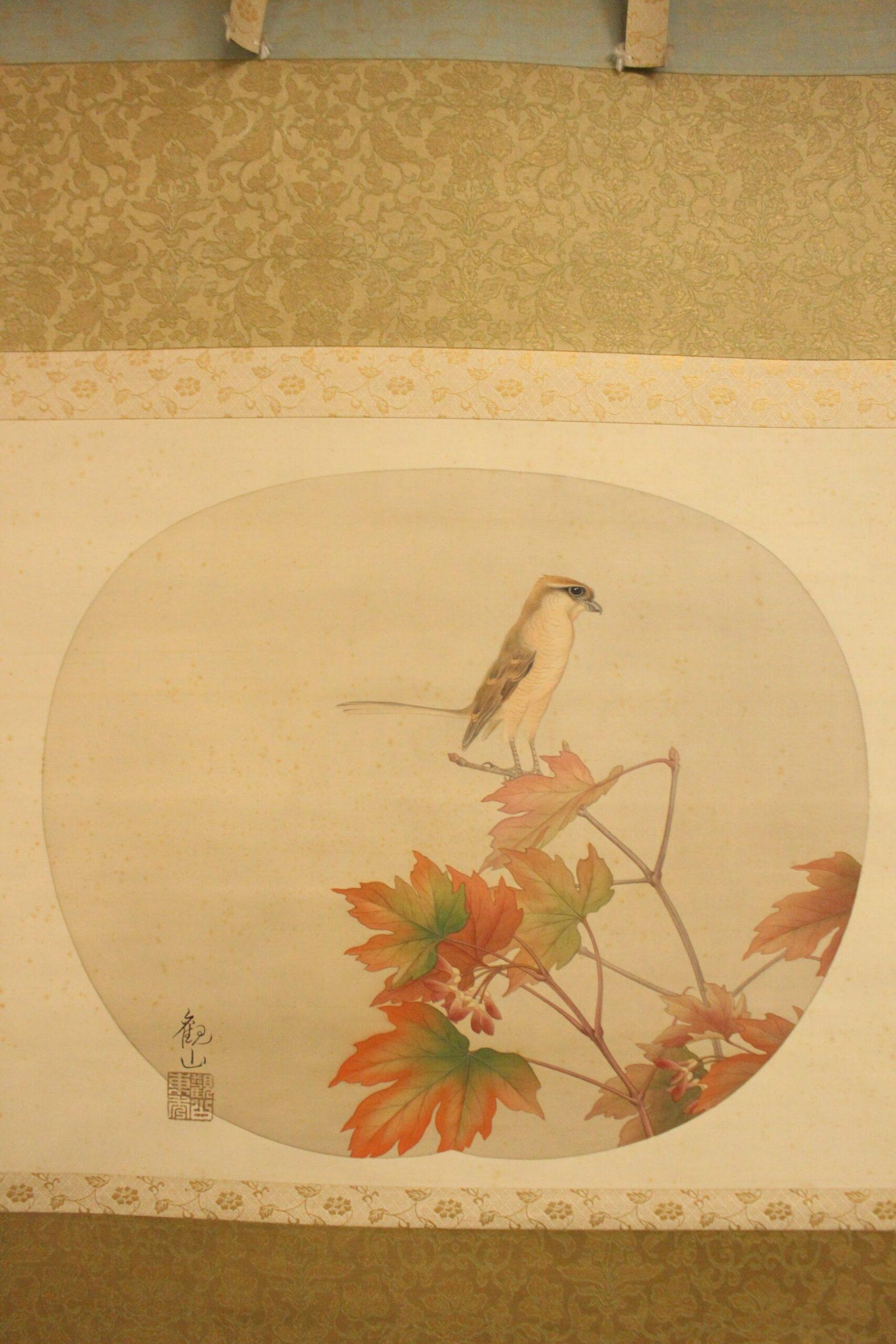 下村観山の作品の特長。古典的日本画の継承と西洋的色彩の融合