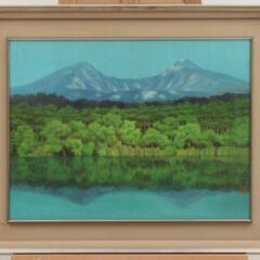 日本画家・奥田玄宋。風景画で新朦朧派を確立