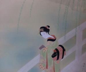勝田哲 春の水