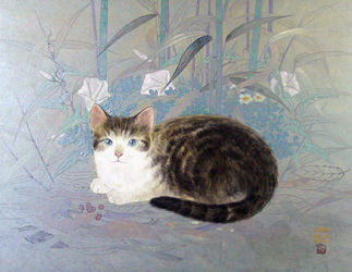 川島睦郎 猫