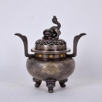 銀製 香炉