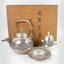 銀製 茶器セット