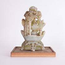 白玉 彫刻