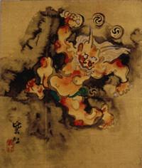 日本画 今村紫紅