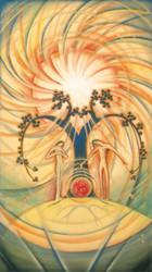 尾竹竹坡 太陽の熱