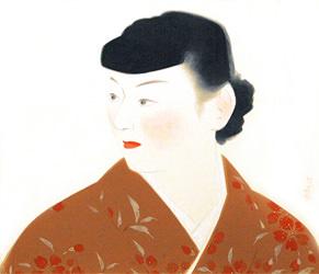 寺島紫明 美人画