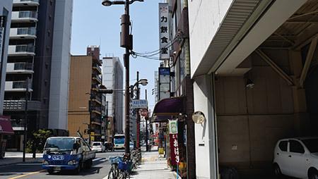 八光堂大阪本店へのアクセス説明