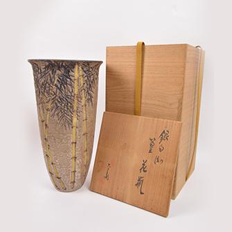 六代 清水六兵衛 花瓶