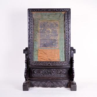 チベット仏画 絹本