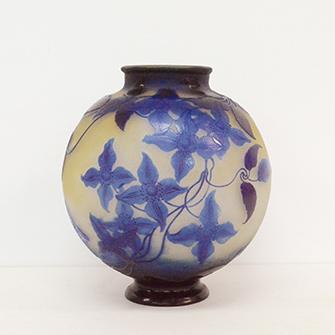 ガレ 花文 花瓶