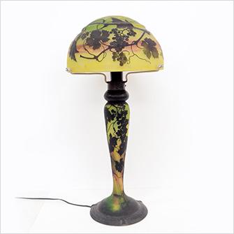 ドーム 葡萄紋ランプ