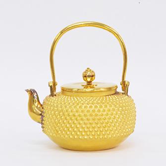 純金 茶瓶