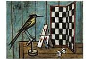 チェッカーと鳥