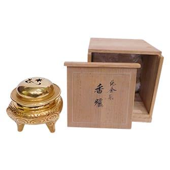 純金製香炉