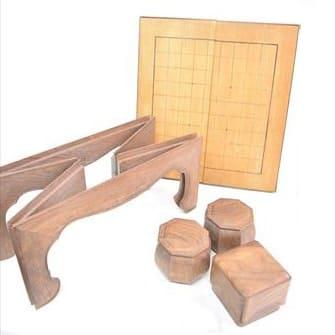碁盤 囲碁・将棋両用