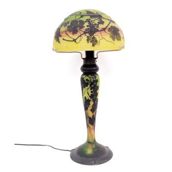 葡萄紋ランプ