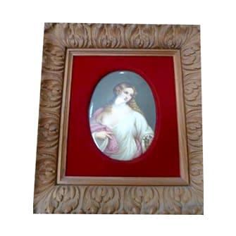 陶板画「フローラ」