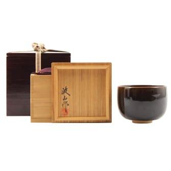 黒飴釉茶碗