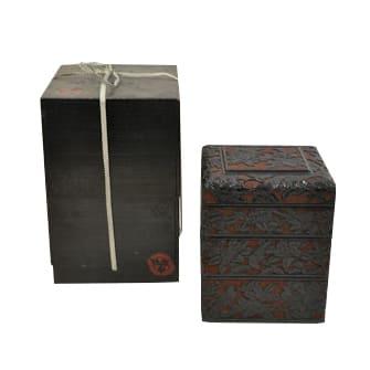 堆黒 四段重箱