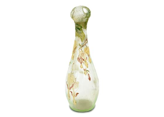 ガレ ウランガラス花瓶
