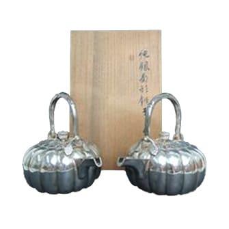 菊型銚子 一対