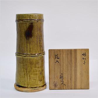竹かた花入